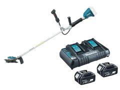 Makita Brush Cutter incl Batteries & Charger