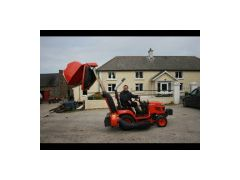 "GCD500 High Dump Grass Collector for the 48"" Side Discharge Deck Off the BX Tractor Range"