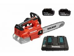 Dolmar AS4030Z c/w 2 5ah batteries and twin charger