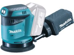 Makita DBO180Z 18v Orbit Sander 5""