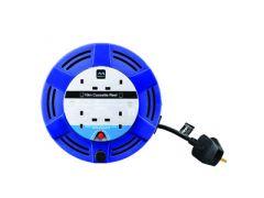 Masterplug 10 metre 4 socket Cable Reel