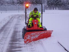 Kubota Fseries Snow Plough