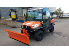 Kubota RTVX Utility Vehicle Snow Plough